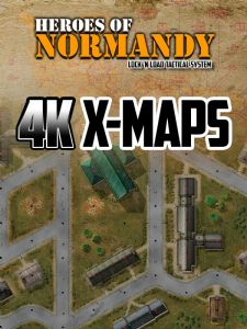 Lock 'n Load Tactical : Heroes of Normandy – 4K X-Maps